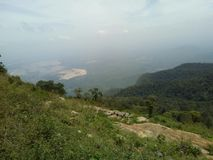 La station de colline de Yercaud est l'une des stations de colline les plus visitées dans Tamil Nadu photographie stock libre de droits