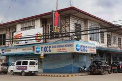 La station de radio la plus ancienne de Mindanao Photo stock