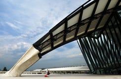 La station de train à Lyon, France Image stock