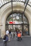 La station de train dans Vevey, Suisse Photographie stock