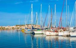 La station de vacances célèbre de Crète photo libre de droits
