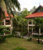 La station de vacances dans le redang de pulau, Malaisie Photos libres de droits