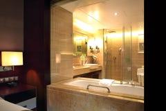 La STATION THERMALE de STATION THERMALE d'hôtel Photo stock