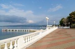 La station touristique de Gelendzhik remblai Image libre de droits