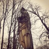 La statua immagini stock