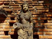La statua dei caratteri leggendari è stata creata per rispettare ed espressioni culturali della Tailandia Fotografia Stock