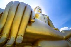 La statua del buddha in Tailandia Fotografia Stock