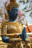 La statua del guardiano Immagine Stock