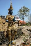 La statua del guardiano Fotografia Stock