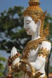 La statua del guardiano Immagini Stock Libere da Diritti