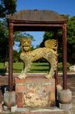 La statua del guardiano Città imperiale Hué vietnam Fotografie Stock Libere da Diritti