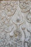La statua del loto fotografie stock