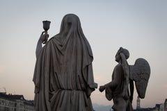 La statua del sacro Graal fotografia stock libera da diritti