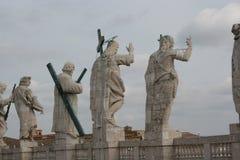 La statua del Vaticano Fotografie Stock Libere da Diritti