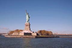La statua della libertà è il simbolo dell'America Gente libera Il simbolo di libertà Fotografie Stock