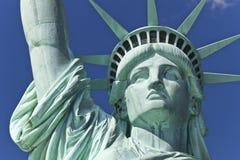 La statua della libertà il dettaglio fotografia stock libera da diritti