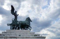 La statua della quadriga Victoria Fotografie Stock Libere da Diritti