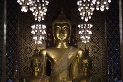 La statua di Buddha Immagine Stock