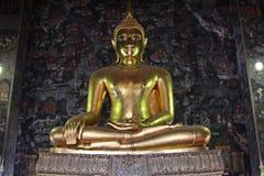 La statua di Buddha Immagini Stock Libere da Diritti