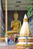 La statua di Buddha Fotografie Stock