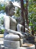 La statua di Buddha su all'aperto Fotografia Stock
