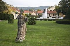 La statua di Ceres Fotografie Stock Libere da Diritti