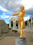 La statua di Johann Strauss immagine stock