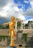 La statua di Johann Strauss immagine stock libera da diritti
