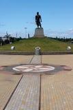 La statua di Lacador Immagini Stock