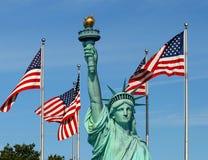 La statua di libertà Immagine Stock