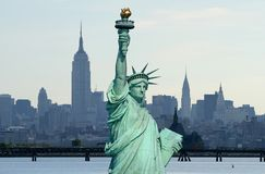 La statua di libertà fotografie stock
