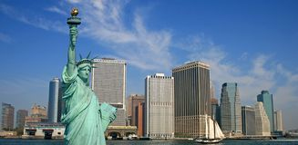 La statua di libertà Immagini Stock