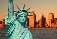 La statua di libertà immagini stock libere da diritti