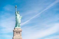 La statua di libertà a New York City Immagine Stock Libera da Diritti