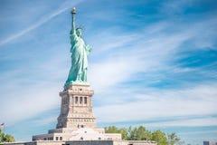 La statua di libertà a New York City Fotografia Stock