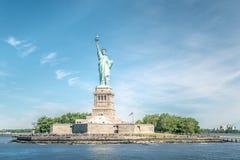 La statua di libertà a New York City Fotografie Stock Libere da Diritti