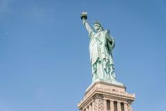 La statua di libertà a New York City Fotografie Stock