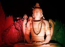La statua di Lord Shiva a Murugeshpalya, Bangalore, India Immagine Stock Libera da Diritti