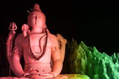 La statua di Lord Shiva a Murugeshpalya, Bangalore, India Immagine Stock
