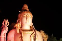 La statua di Lord Shiva a Murugeshpalya, Bangalore, India Fotografia Stock Libera da Diritti