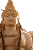 La statua di Lord Shiva a Murugeshpalya, Bangalore, India Fotografie Stock Libere da Diritti