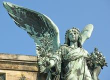 La statua di pace Fotografie Stock Libere da Diritti