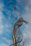 La statua di ringraziamento Fotografia Stock