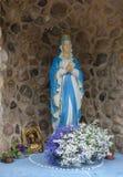 La statua di vergine Maria Fotografie Stock