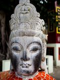 La statua leggendaria di Dio in romanzi di fantasia della Cina è individua fotografia stock