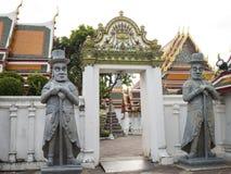 La statua nel tempio 2 Fotografia Stock