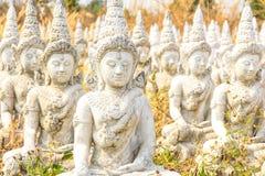 La statua non finita di Budda Immagini Stock