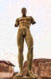 La statua solenne immagine stock libera da diritti
