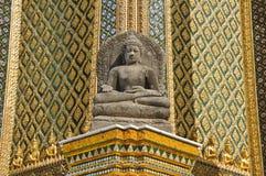 La statua storica del buddha Fotografie Stock