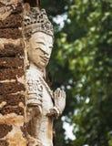 La statue antique d'un dieu Image libre de droits